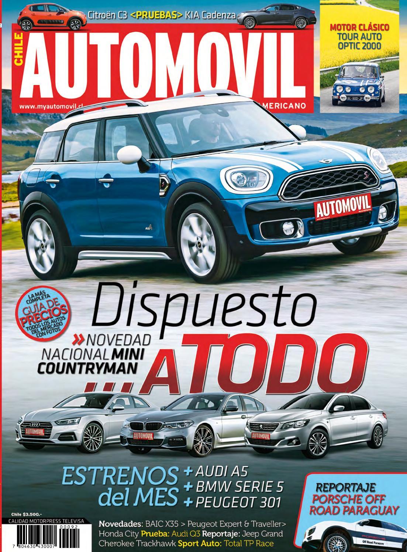 Revista Automóvil Panamericano Edición Chilena Nº92 (Mayo 2017) by ...