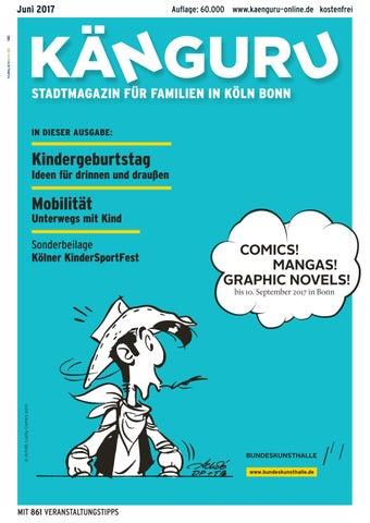 Känguru Stadtmagazin Für Familien In KölnBonn Juni 17 By Känguru ...