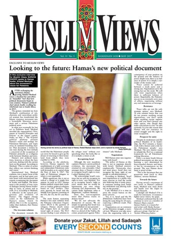 Muslim Views, May 2017