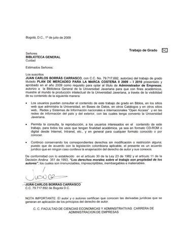 Tesis Bavaria Investigacion De Mercados By Jeison Jaimes Issuu
