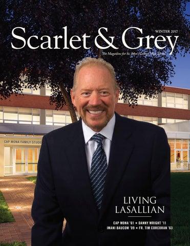 Scarlet Grey Winter 2017 By St Johns College High School Issuu
