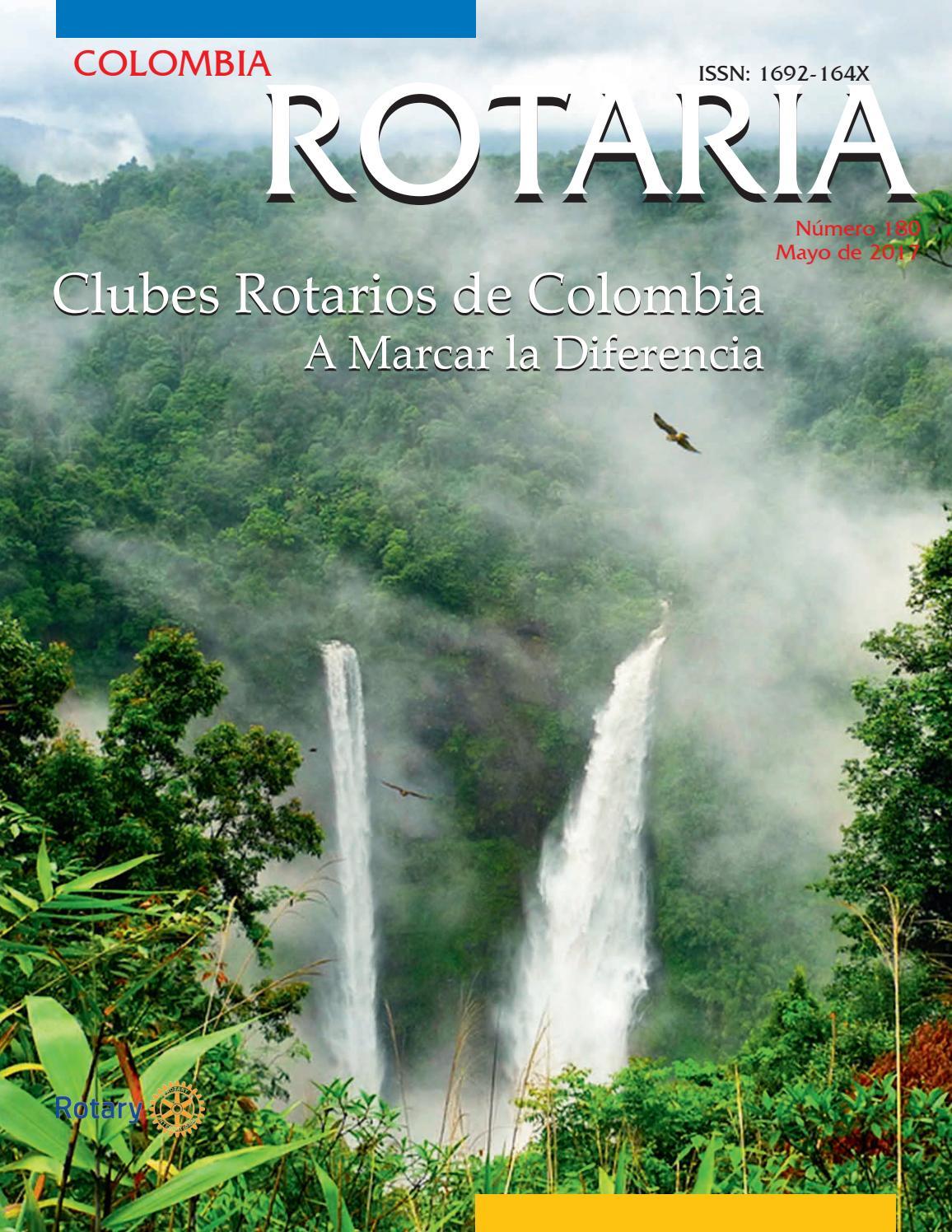 Colombia Rotaria 180 by Enrique Jordán Sarria - issuu
