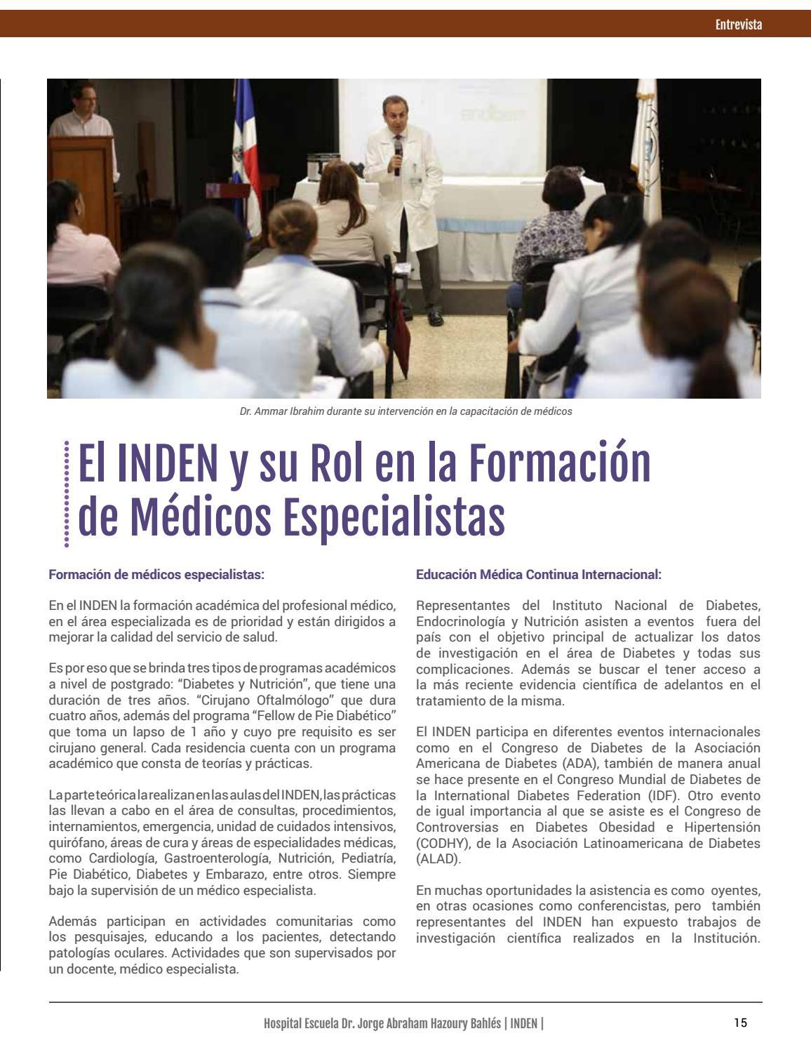 medico especialista en nutricion y diabetes