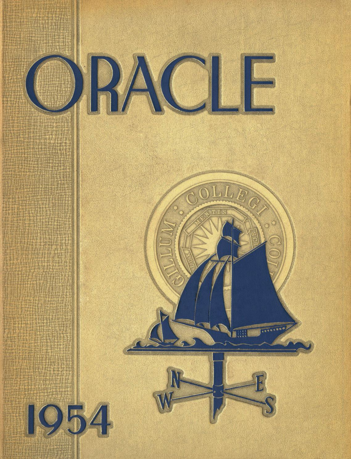 The Colby Oracle 1954 By College Libraries Issuu Mini Skelly Royal Guard Seaport Blue 4 5 Tahun