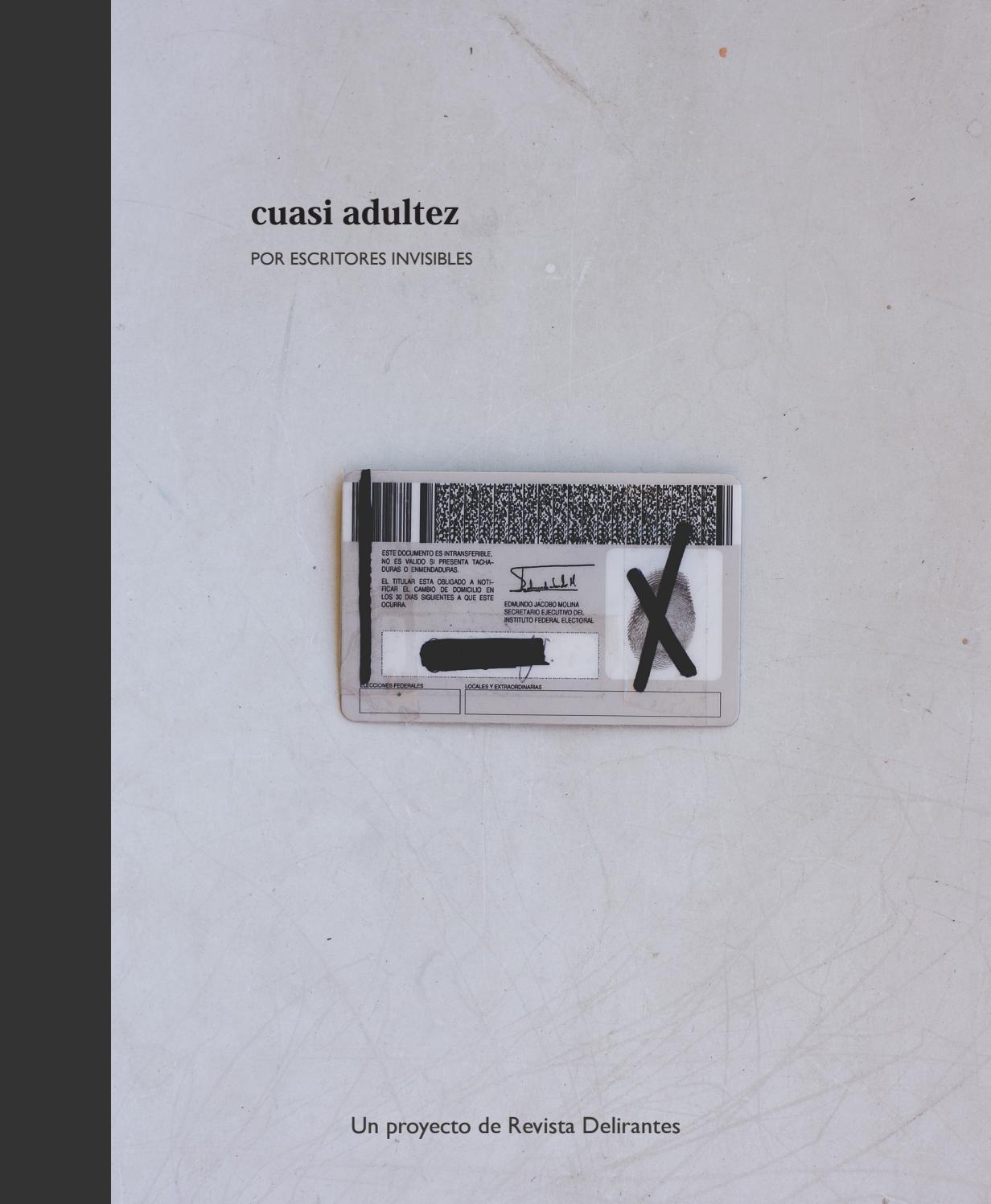 Escritores invisibles by Revista Delirantes - issuu
