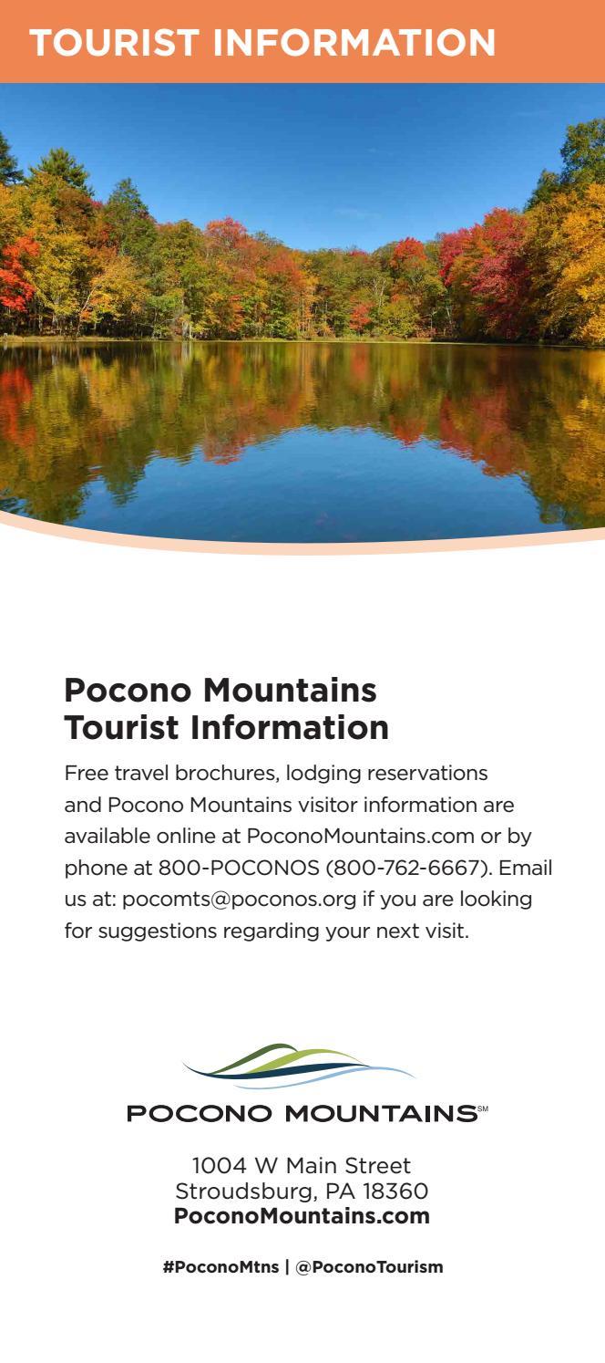 2017 pocono mountains attractions guide by pocono