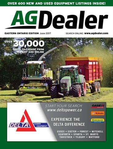 AGDealer Eastern Ontario Edition, September, 2017 by Farm Business