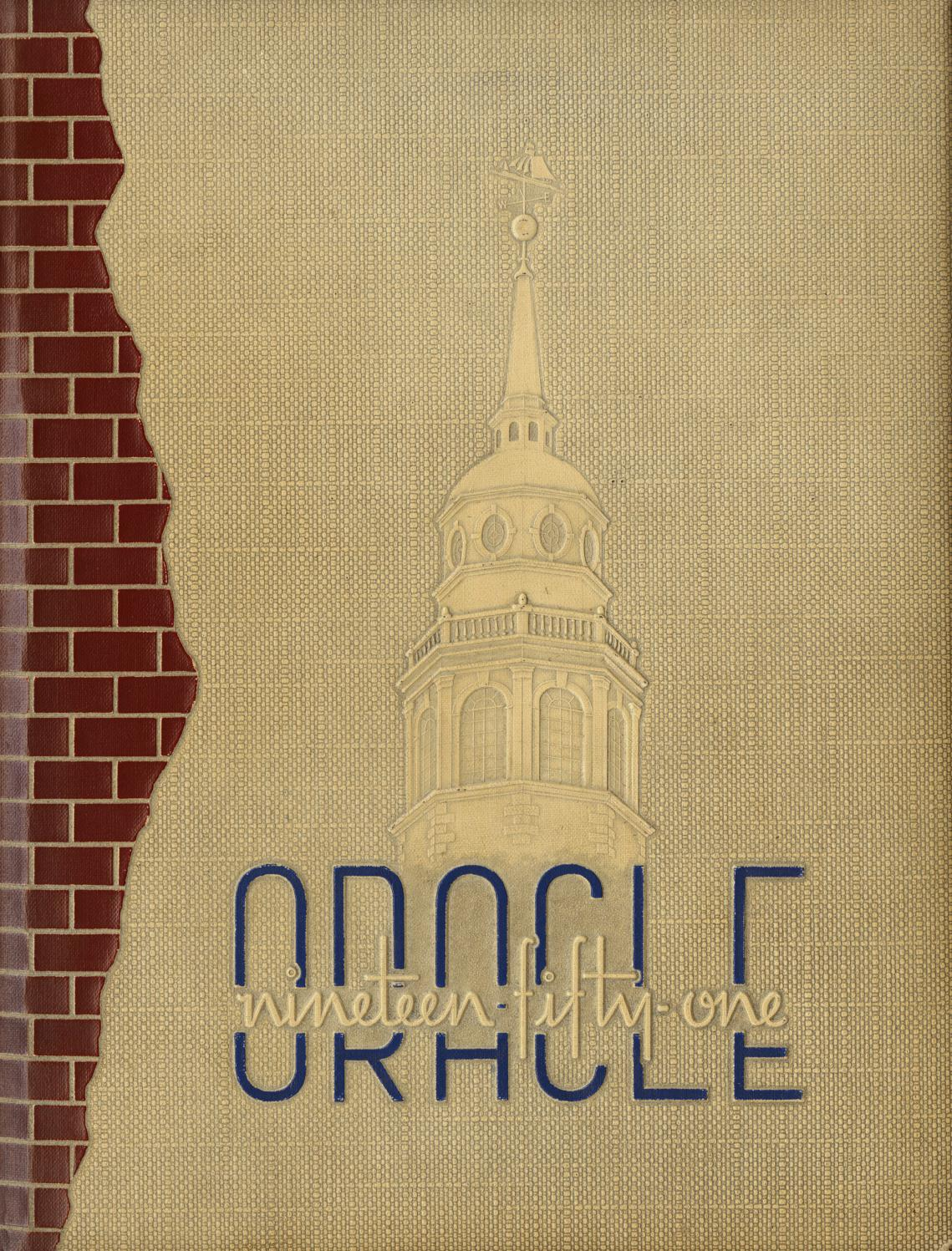 The Colby Oracle 1951 by Colby College Libraries - issuu