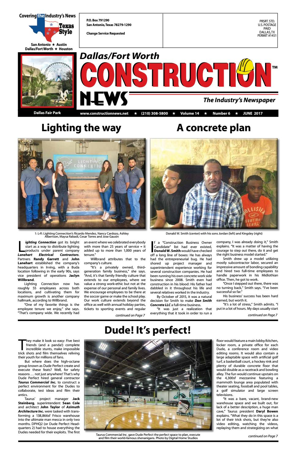 Dallas Fort Worth Construction News June 2017 By