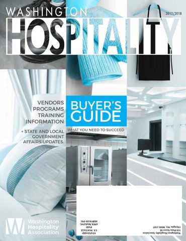 Washington Hospitality Magazine Buyers Guide 2017 2018 By