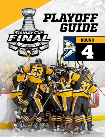Pittsburgh Penguins 2017 Stanley Cup Final Postseason Guide by ... 077c0bcb3db3