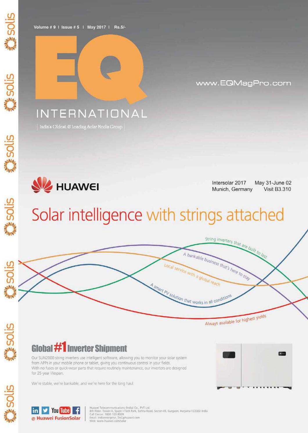 Eq Magazine May 2017 Edition By Intl Solar Media Group Issuu Jin You Ceiling Fan Switch Wiring