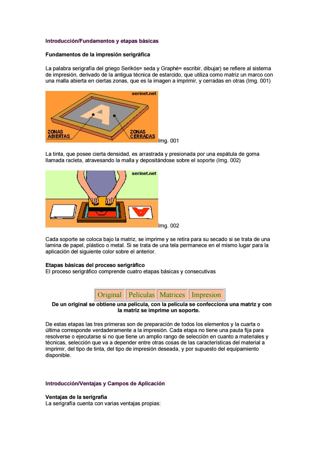 MANUAL DE SERIGRAFIA by GRAFICSANTS - issuu