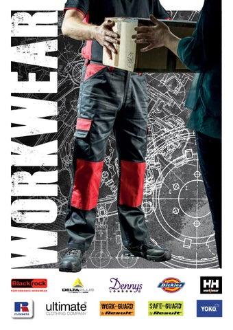 Men/'s Hi-Vis High Visibility Polycotton Workwear Cargo Combat Trousers 30-48