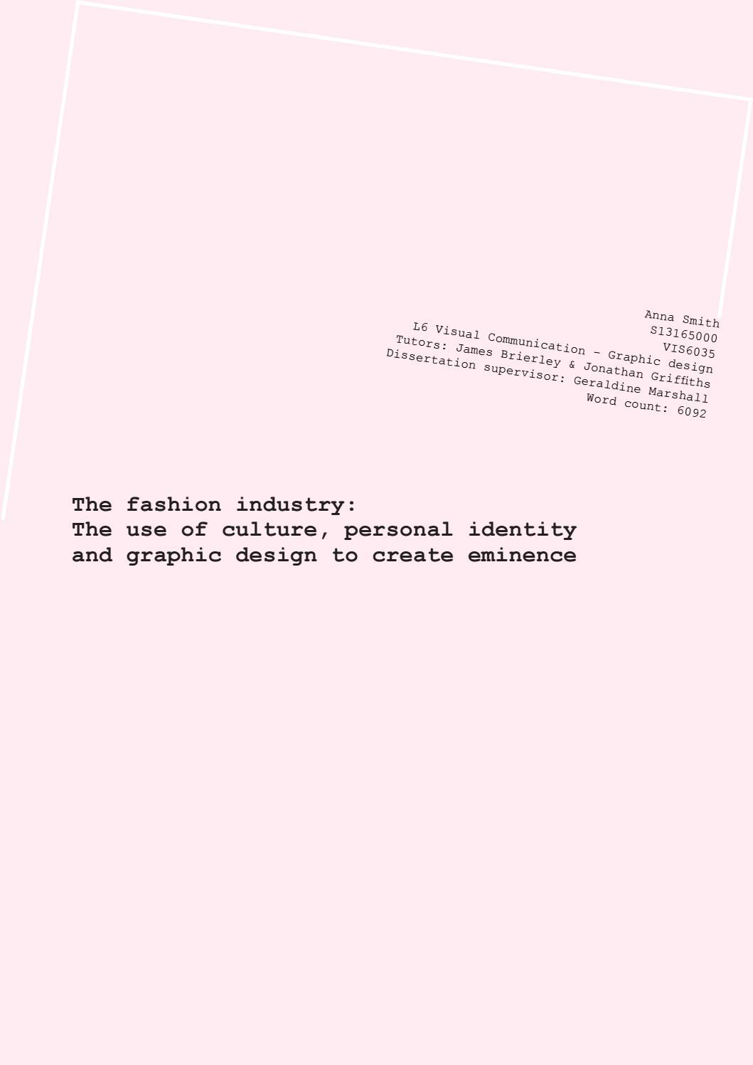 graphic design dissertations