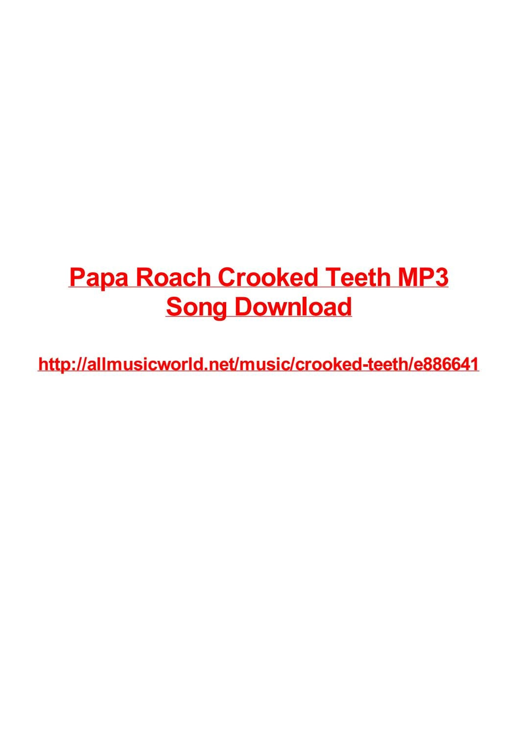 papa roach mp3 download