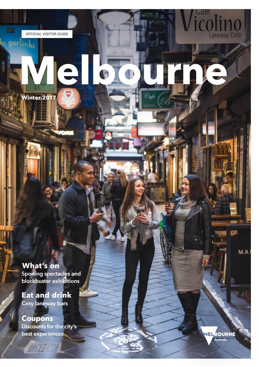 06b34c5d140 Melbourne Official Visitors Guide - Winter 2017 by Destination ...