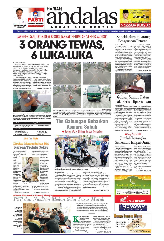Epaper andalas edisi senin 29 mei 2017 by media andalas - issuu acaeb94b39