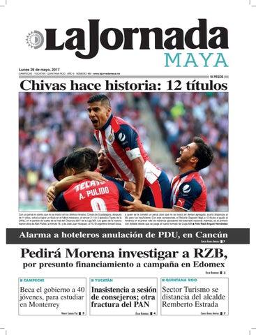 1a796b7cc96fc La Jornada Maya · Lunes 29 de mayo