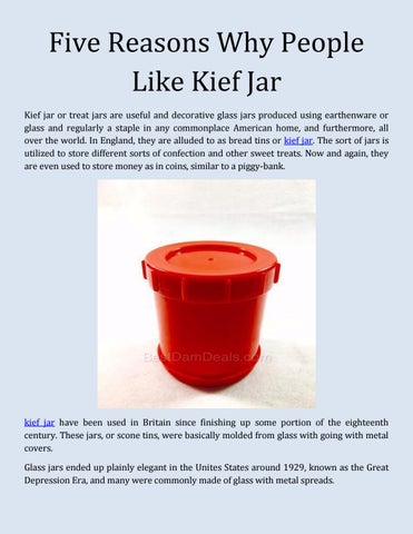 five reasons why people like kief jar by bestdamdeals issuu