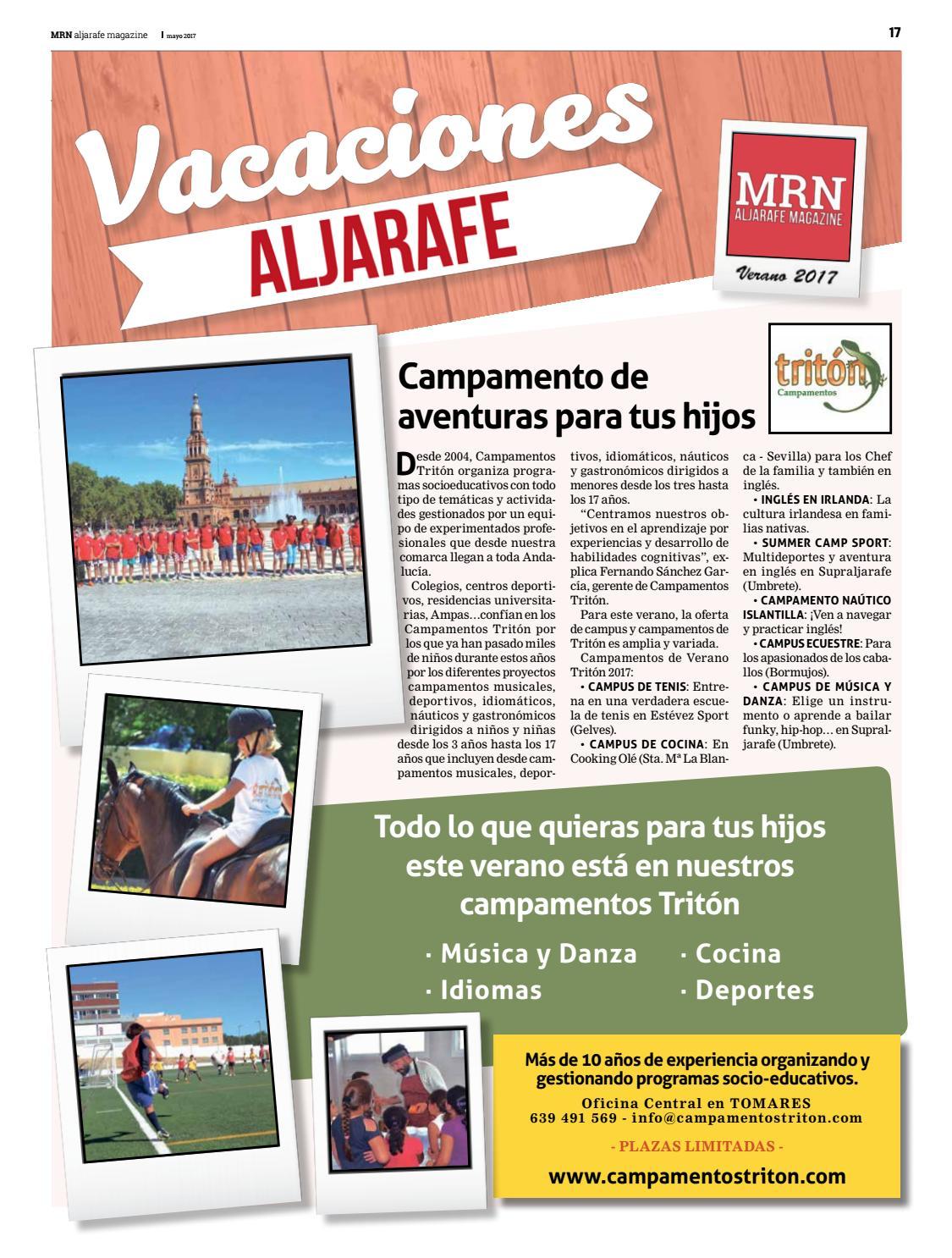Suplemento Especial Campus 2017 By Mrn Aljarafe Magazine Issuu