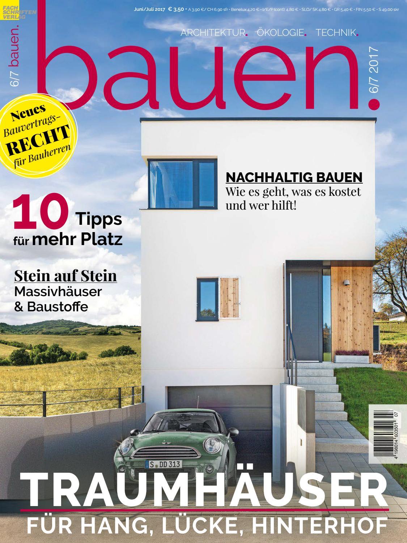 bauen 6/7-2017 by Fachschriften Verlag - issuu