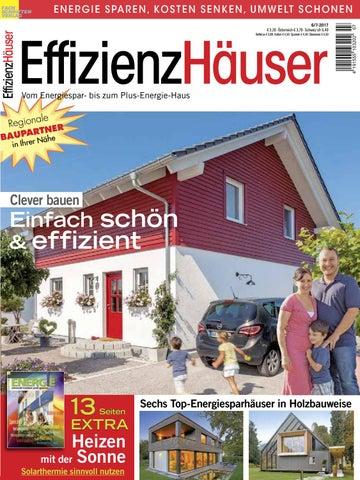 EffizienzHäuser 6/7 2017 By Fachschriften Verlag   Issuu