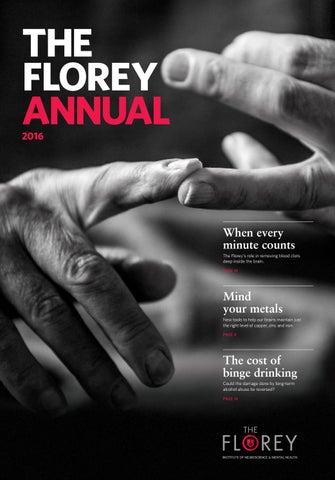 Florey Institute Annual Report 2016 By Florey Institute Issuu