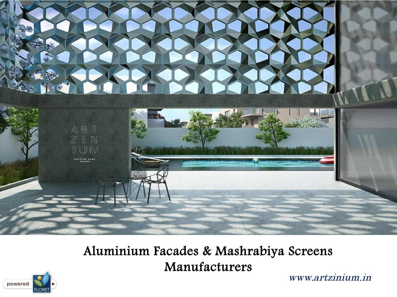 Aluminium facades & mashrabiya screens manufacturers by