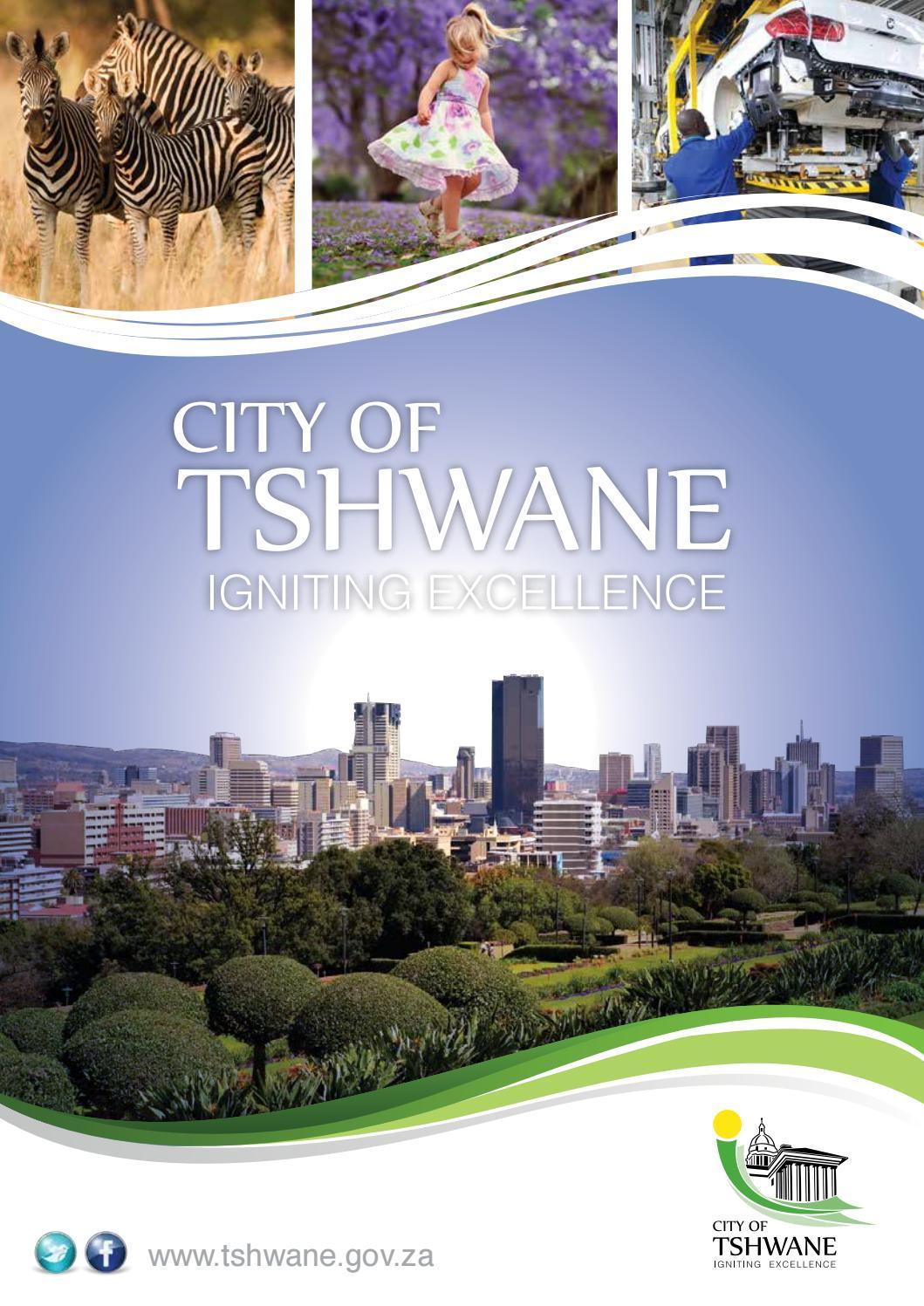 City of tshwane by 3S Media Issuu