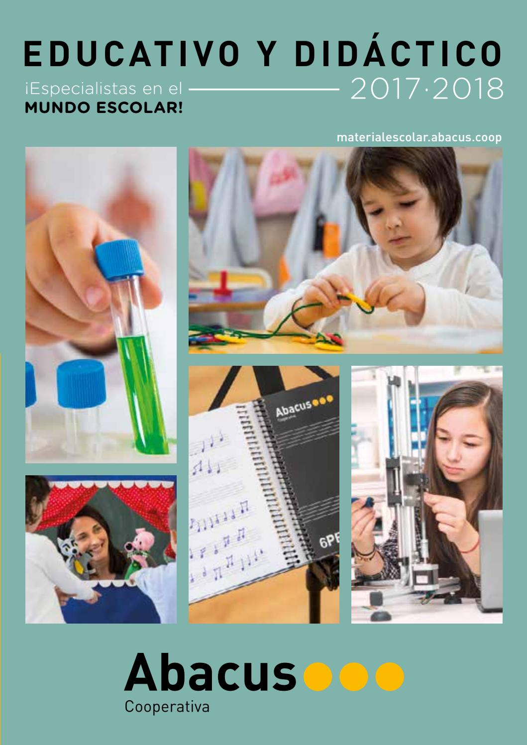 Catálogo Educativo y Didáctico 2017-2018 by Abacus cooperativa - issuu ab817cf0d2f4