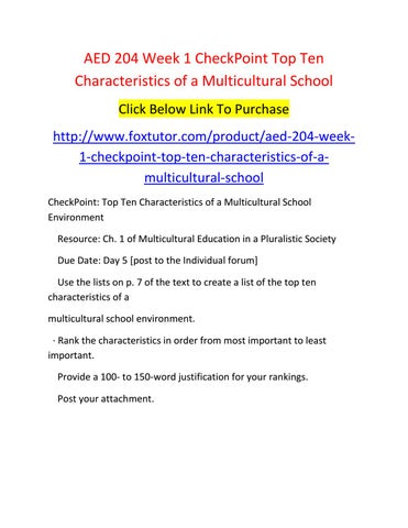 goals of multicultural education