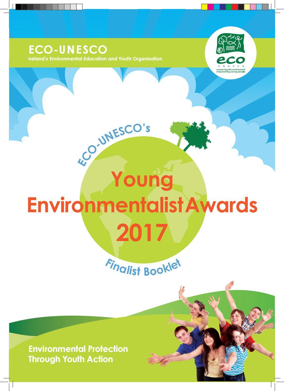 ECO-UNESCO's YEA 2017 Finalist Booklet by ECO-UNESCO - issuu