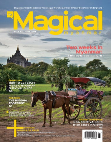 My Magical Myanmar (Vol-3,Iss-7) by My Magical Myanmar - issuu