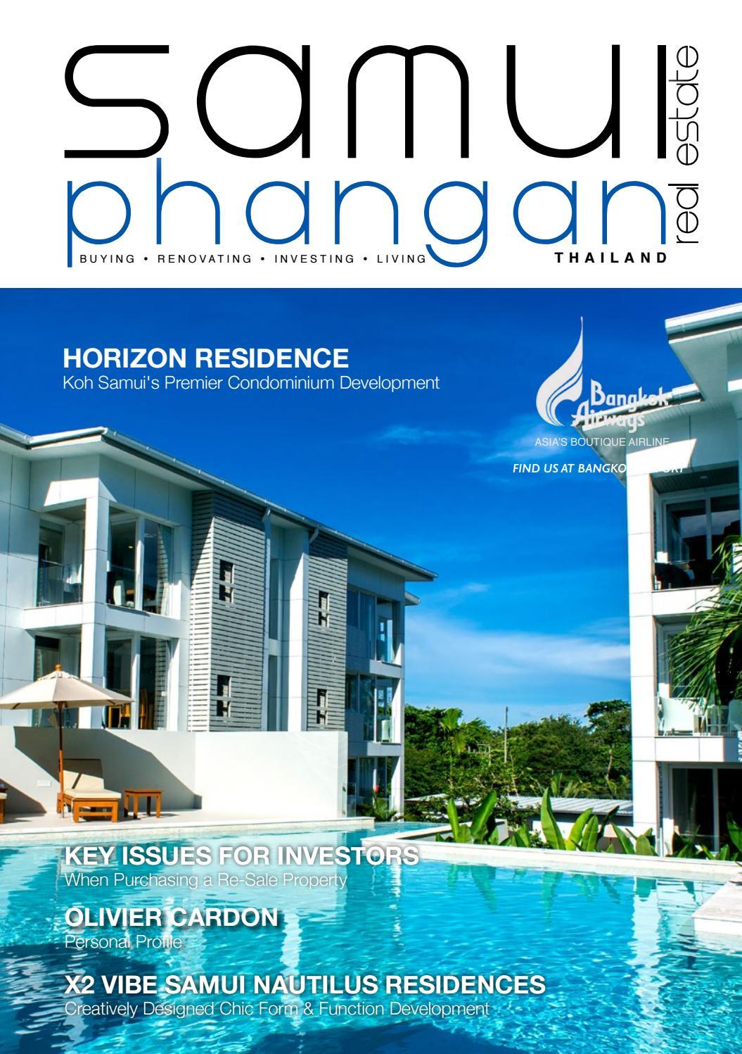 Samui Phangan Real Estate Junejuly 2017 By Satayu Publishing Co, Ltd   Issuu