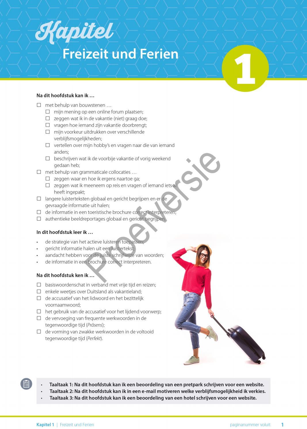 Alles Klar! Aktuell 5 - Hoofdstuk 1 (proefversie) by VAN IN - issuu
