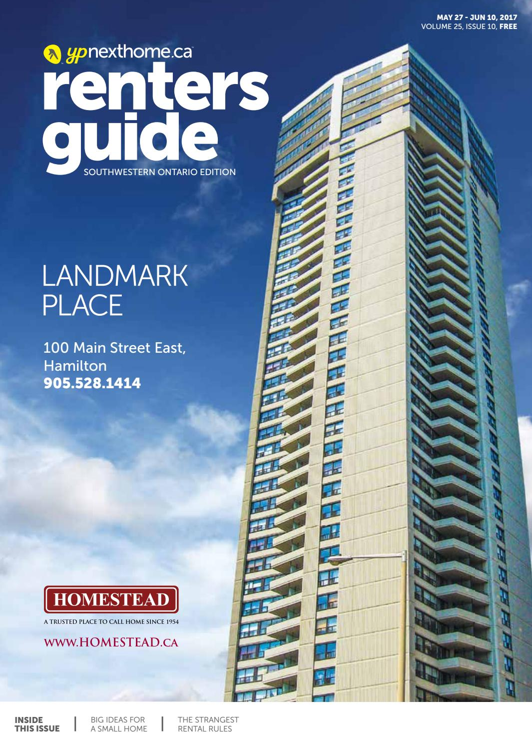 South Western Ontario Renters Guide - May 27, 2017 by NextHome - issuu