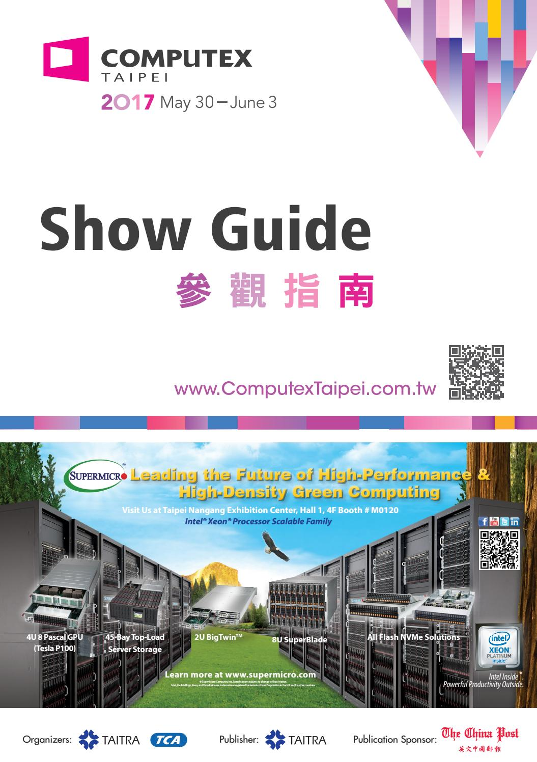 2017 COMPUTEX Show Guide by Belin Chen - issuu