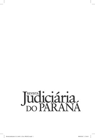Revista judiciria do paran volume 13 by osmar gomes issuu page 1 fandeluxe Gallery