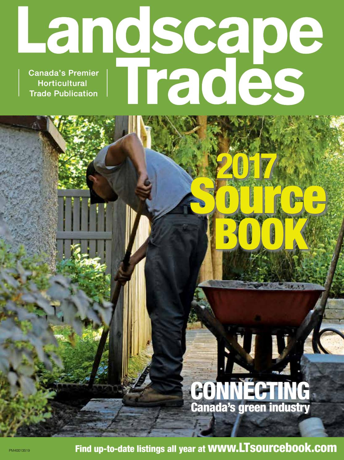 b4dbcf63c06 May 2017 Landscape Trades Source Book by Landscape Ontario - issuu