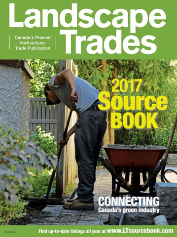 May 2017 Landscape Trades Source Book by Landscape Ontario