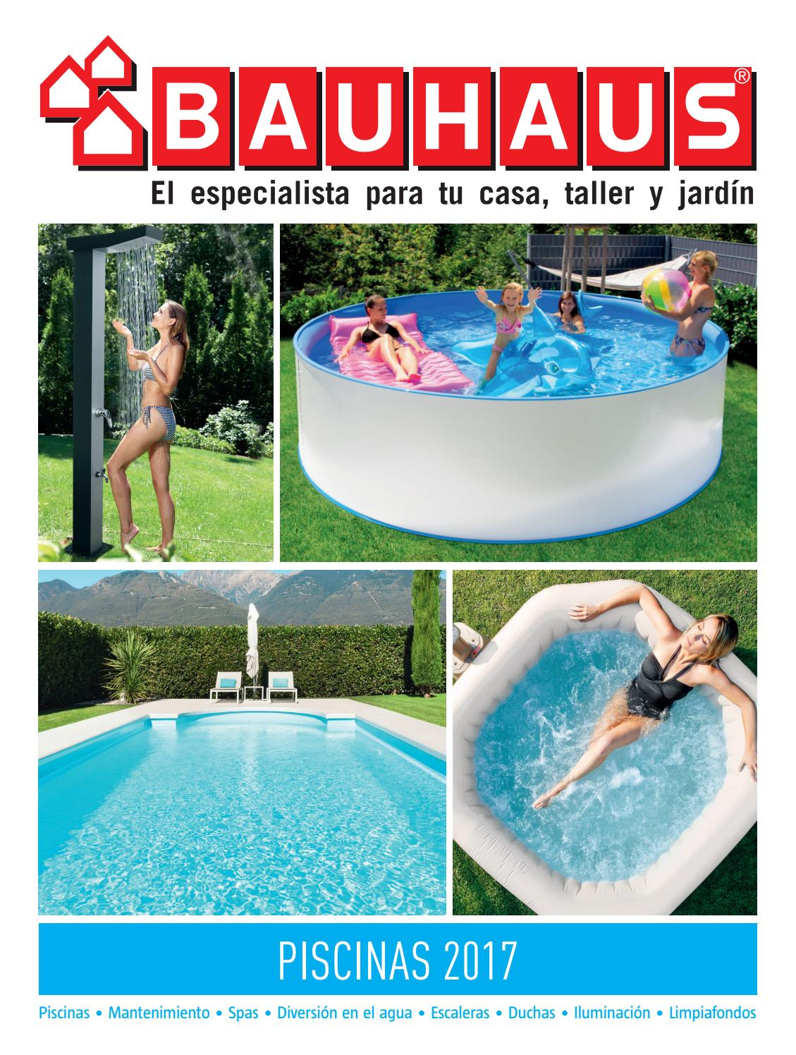 piscinas 2017 by bauhaus issuu