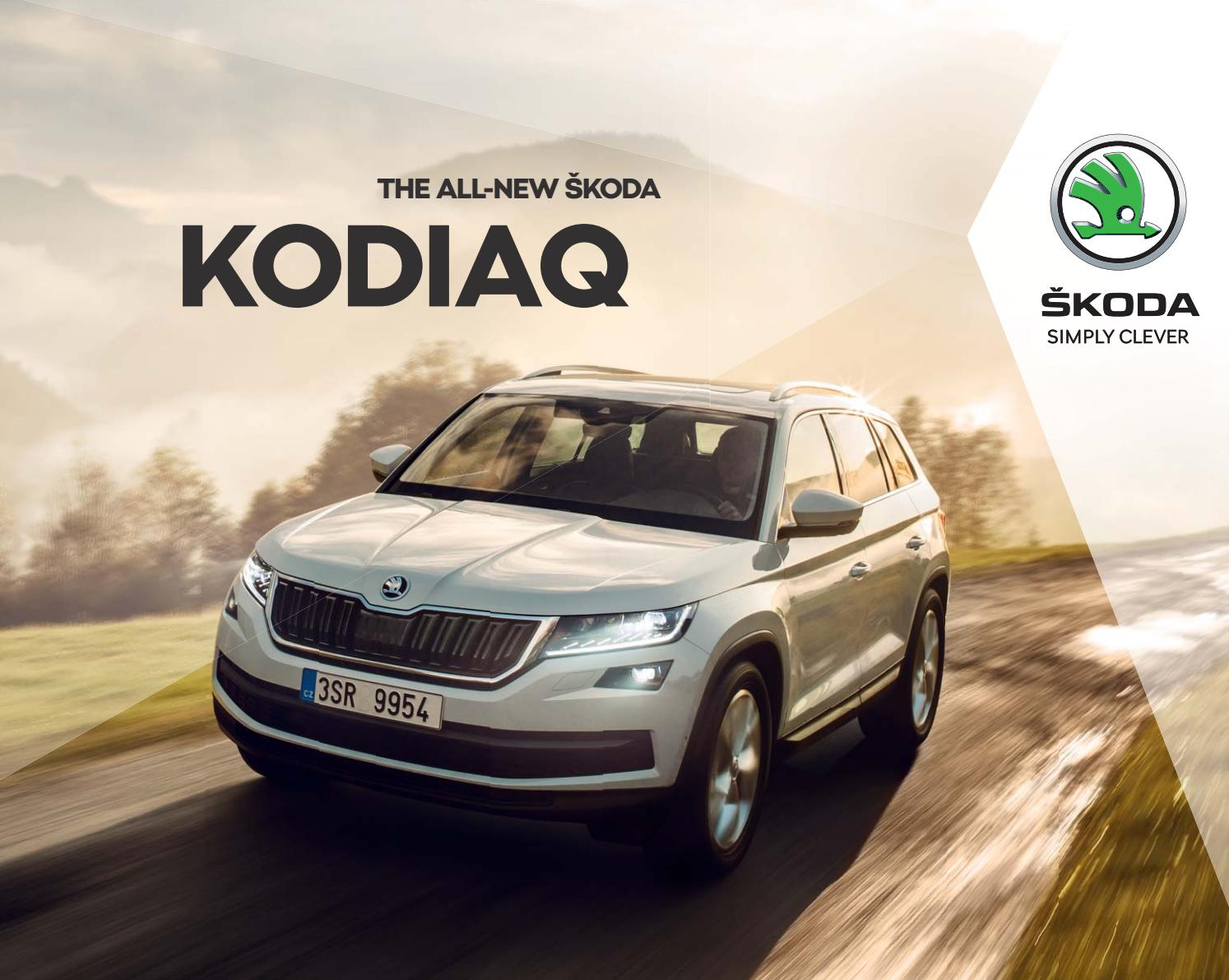 kodiaq main catalog en 2 17 by skoda ecuador issuu. Black Bedroom Furniture Sets. Home Design Ideas