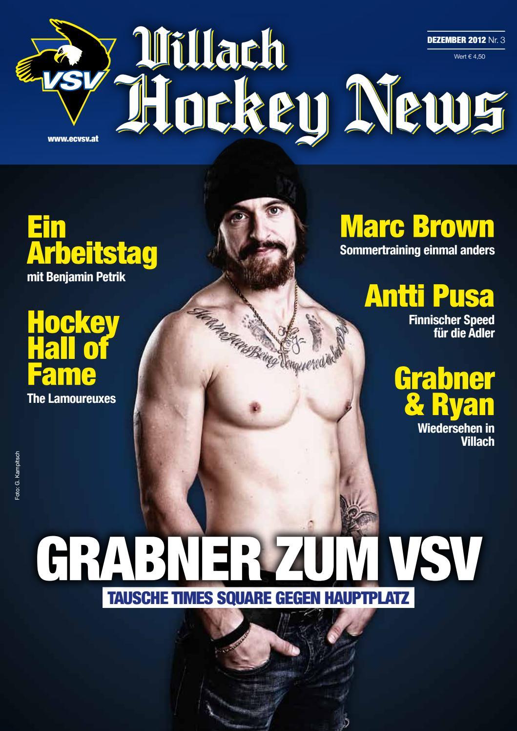 Villach Hockey News - Ausgabe 3 - 12/2012 by Eishockeyclub VSV - issuu