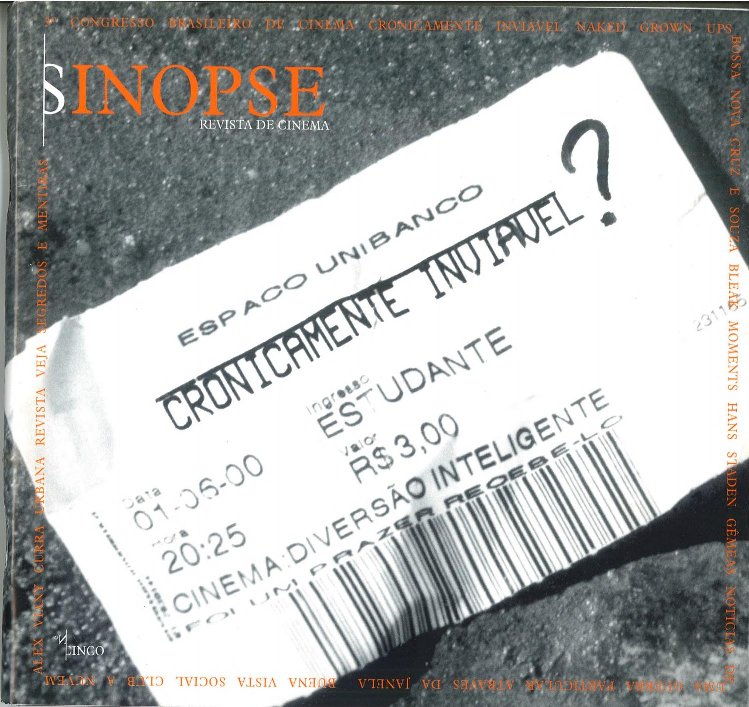 Sinopse 05 By Cinusp Paulo Emílio Issuu