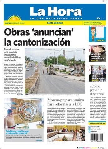 094c02a0e Santo Domingo 30 de mayo de 2017 by Diario La Hora Ecuador - issuu