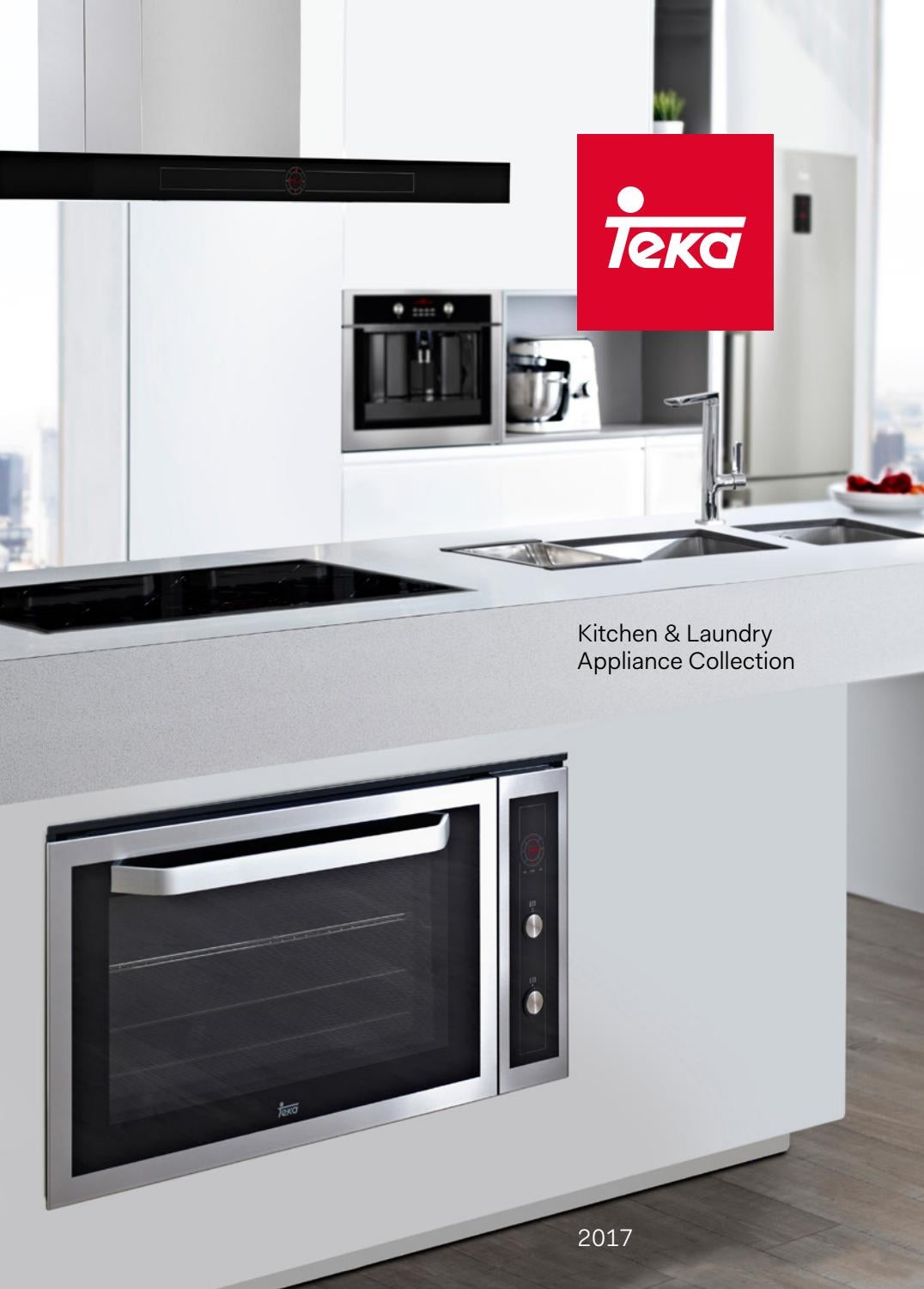 Teka Kitchen Amp Laundry Appliance Collection 2017 By