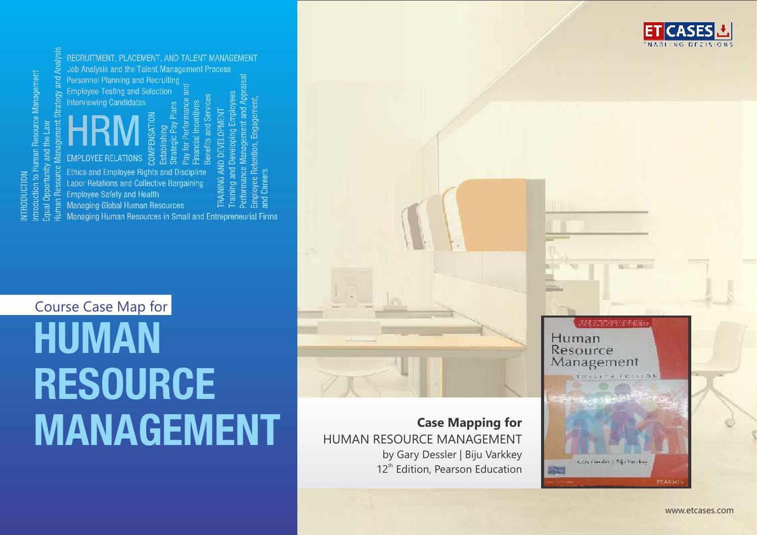 an analysis of managing global human resources