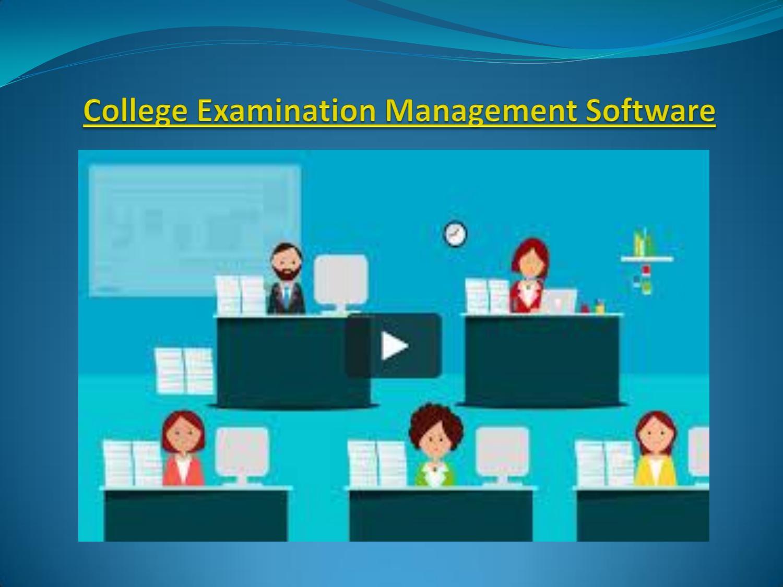 College examination management software