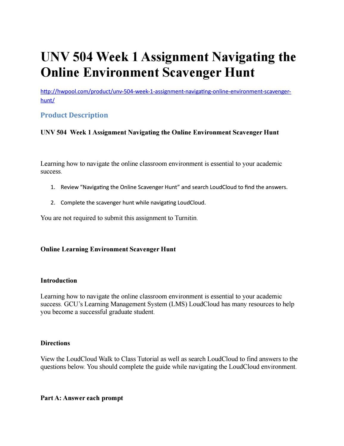 navigating the online environment guide Guide to online high school courses in the use of the online environment to deliver instruction to our knowledge and savvy in navigating the many online pro.